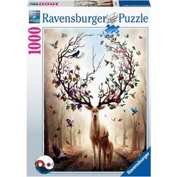 Ravensburger puslespel 1000 Fantasi Rådyr 1000 bitar - Ravensburger