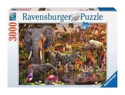 Ravensburger puslespel 3000 Afrikanske dyr 3000 bitar - Ravensburger