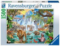 Ravensburger puslespel 1500 Fossesafari 1500 bitar - Ravensburger