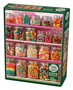 Cobble Hill 1000 Candy Shelf 1000 bitar - Cobble Hill