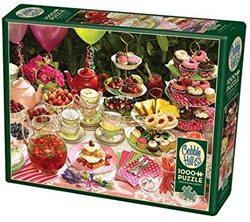 Cobble Hill puslespel 1000 Garden Party 1000 bitar - Cobble Hill