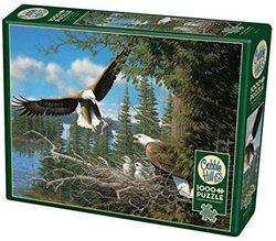 Cobble Hill puslespel 1000 Nesting Eagle 1000 bitar - Cobble Hill