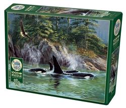Cobble Hill puslespel 1000 Orcas 1000 bitar - Cobble Hill