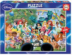 Educa puslespel 1000 The Marvellous World Of Disney II 1000 bitar - Educa