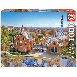 Educa puslespel 1000 Barcelona View From Park Güell 1000 bitar - Educa