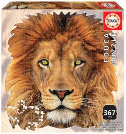 Educa puslespel 400 Face of Lion Løve - Educa