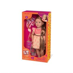 Our Generation Portia Hair grow doll, light brown Portia - Our Generation