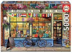 Educa puslespel 5000b the greatest bookshop - lev uke 30 bookshop - Educa