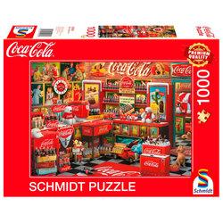 Schmidt puslespel 1000 Coca Cola Nostalgic 1000 bitar - Schmidt