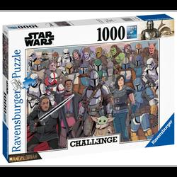 Ravensburger puslespel 1000 Challenge Baby Yoda 1000 bitar - Ravensburger