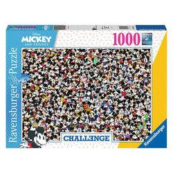 Ravensburger puslespel 1000 Challenge Mickey 1000 bitar - Ravensburger