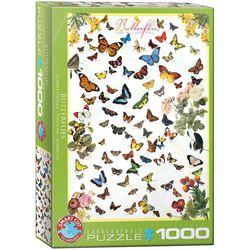 Eurographics puslespel 1000 Butterflyes 1000 bitar - Eurographics