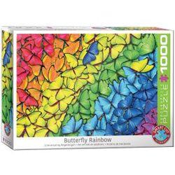 Eurographics puslespel 1000 Butterfly Rainbow 1000 bitar - Eurographics