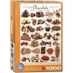 Eurographics puslespel 1000 Chocolate 1000 bitar - Eurographics