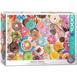 Eurographics puslespel 1000 Donut Party 1000 bitar - Eurographics