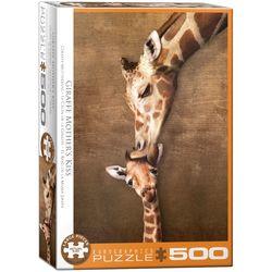 Eurographics puslespel 500 xl Giraffe Mother's Kiss 500 xl bitar - Eurographics