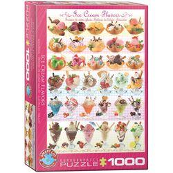 Eurographics puslespel 1000 Ice Cream Flavours 1000 bitar - Eurographics