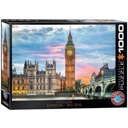 Eurographics puslespel 1000 London Big Ben 1000 bitar - Eurographics