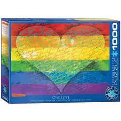 Eurographics puslespel 1000 Love & Pride 1000 bitar - Eurographics