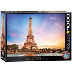 Eurographics puslespel 1000 Paris Eiffeltårnet 1000 bitar - Eurographics