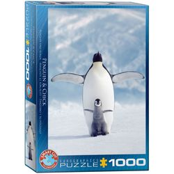 Eurographics puslespel 1000 Penguin & Chick 1000 bitar - Eurographics