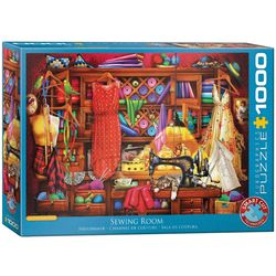 Eurographics puslespel 1000 Sewing Craft Room 1000 bitar - Eurographics