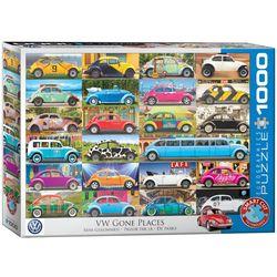 Eurographics puslespel 1000 VW Beetle - Gone Places 1000 bitar - Eurographics