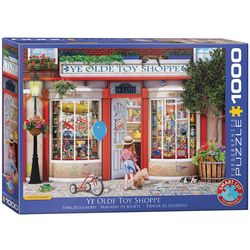 Eurographics puslespel 1000 Ye Old Toy Shoppe by Paul Normand 1000 bitar - Eurographics