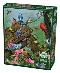 Cobble Hill puslespel 1000 Birds of the forest 1000 bitar - Cobble Hill