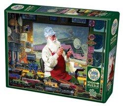 Cobble Hill puslespel 1000 Santa's Hobby 1000 bitar - Cobble Hill
