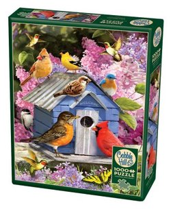 Cobble Hill puslespel 1000 Spring birdhouse 1000 bitar - Cobble Hill