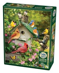 Cobble Hill puslespel 1000 Summer birdhouse 1000 bitar - Cobble Hill