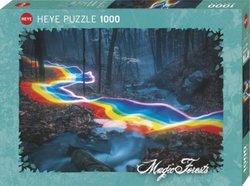 Heye puslespel 1000 Photo Magic Forests Rainbow Road 1000 bitar - Heye