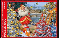Piatnik puslespel 1000 Ruyer Christmas Decorations 1000 bitar - Piatnik