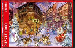 Piatnik puslespel 1000 Ruyer Christmas Village 1000 bitar - Piatnik