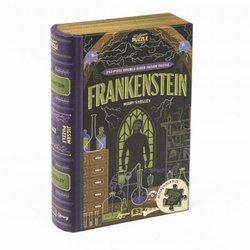 Professor puzzle 252 Frankenstein dobbeltsidig Bok 252 bitar - Professor puzzle