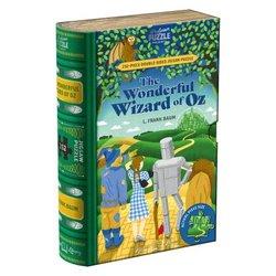 Professor puzzle 252 The Wonderful Wizard of Oz  dobbeltsidig Bok. 252 bitar - Professor puzzle