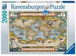 Ravensburger puslespel 2000 Around the World 2000 bitar - Ravensburger