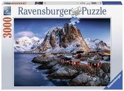 Ravensburger puslespel 3000 Hamnøy, Lofoten 3000 bitar - Ravensburger