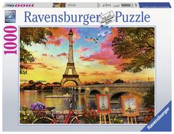 Ravensburger puslespel 1000 Paris seine 1000 bitar - Ravensburger