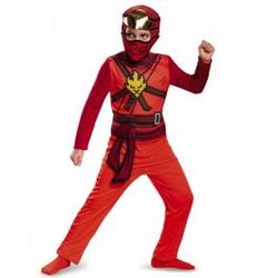 Kostyme Ninjago Kai Kai - rød - Ninjago