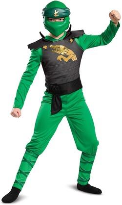 Kostyme Ninjago Lloyd Lloyd - grøn - Ninjago
