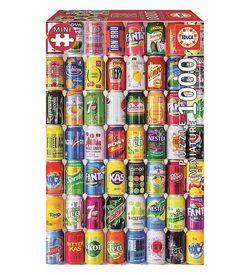 Educa puslespel 1000 Soft Cans Miniature 1000 bitar - Educa