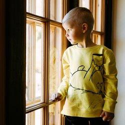 Mummi Moomin Sweatshirt Yellow Yellow - Mummi