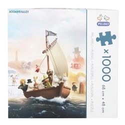 Mummi puslespel 1000 Ute på havet 1000 bitar - Peliko - mummi