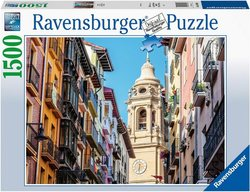 Ravensburger puslespel 1500 Pamplona 1500 - Ravensburger