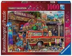 Ravensburger puslespel 1000 Familie ferie 1000 bitar - Ravensburger