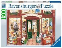 Ravensburger puslespel 1500 Wordsmiths Bookshop 1500 bitar - Ravensburger