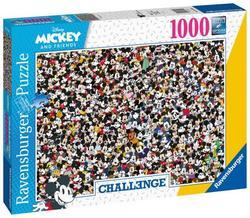 Ravensburger puslespel 1000 Mikke mus utfordring 1000 bitar - Ravensburger