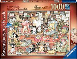 Ravensburger puslespel 1000 Crazy Cats 1000 bitar - Ravensburger